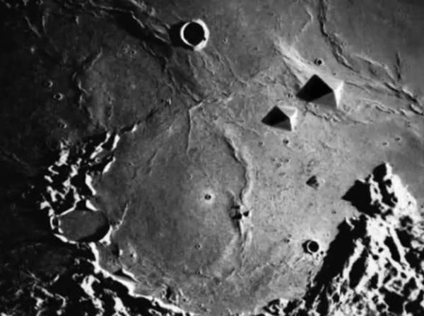 Pyramid on the Moon Most Mysterious Pictures