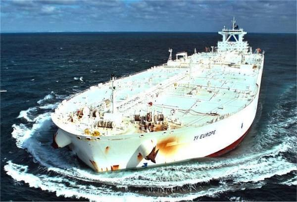 TI Class Supertankers Biggest Ships