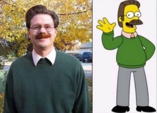Ned from The Simpsons