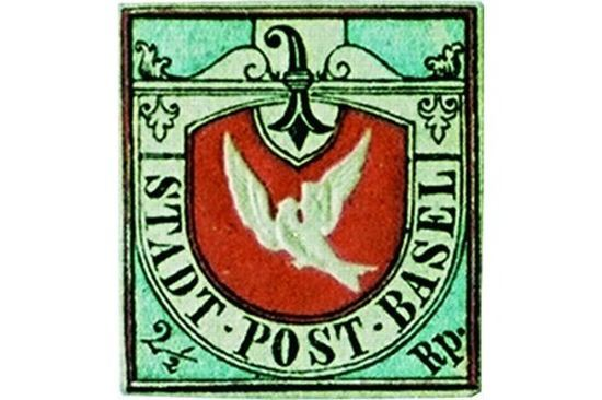 Basel Dove Expensive Stamps