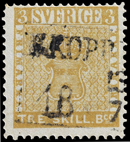 Treskilling Yellow Stamps