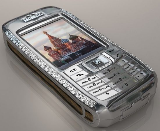 Diamond Crypto Smartphone Expensive Phones