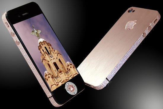 Diamond Rose iPhone Expensive Phones
