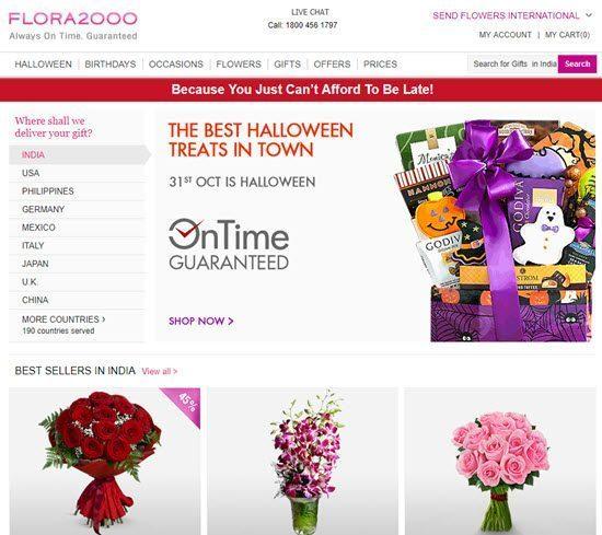 Flora2000 order flowers online