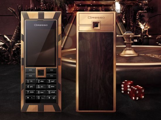 Gresso Luxor Las Vegas Jackpot Expensive Phones