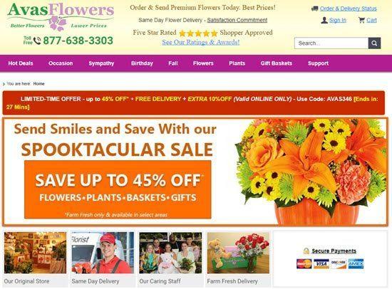 Avas Flowers order flowers online