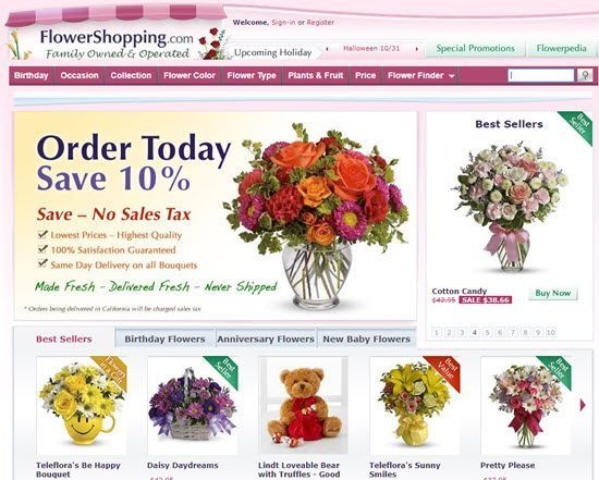 Flower Shopping order flowers online