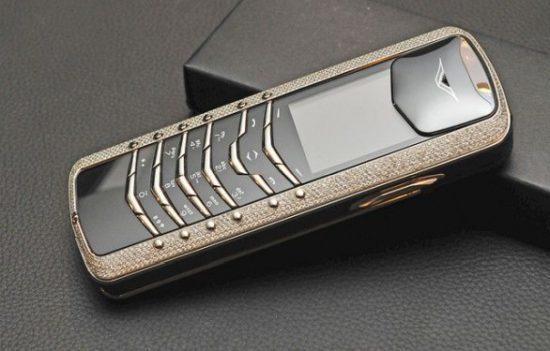 Vertu Signature Diamond Expensive Phones