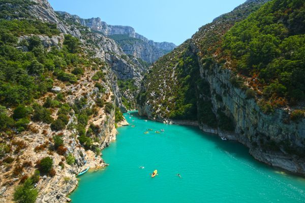 Verdon Gorge Famous Canyons