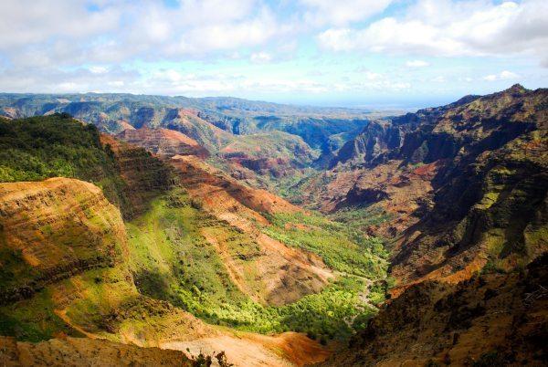 Waimea Canyon - Famous Canyons