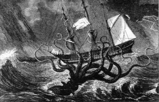 Kraken Mythical Creatures