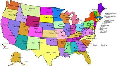 10 Largest States in the USA by Area and Population