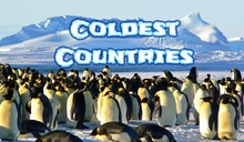 Coldest Countries in the World