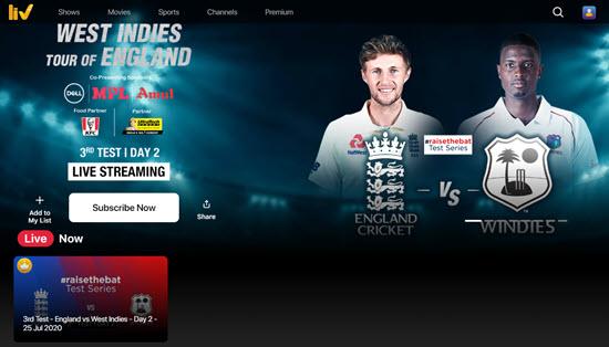 Sony Liv Sports Streaming