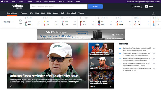 Yahoo! Sports Live